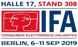 IFA 2019 Hallenplan