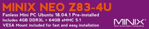 MINIX NEO Z83-4U Banner