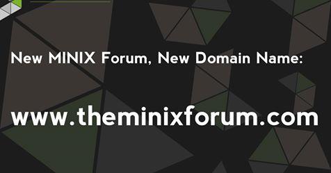 MINIX Forum Hinweis