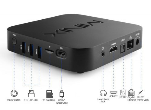 MiniX NEO U22-XJ Android 9 Media Hub