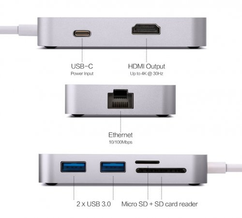MINIX NEO C-X, USB-C Multiport Adapter