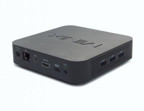 MiniX NEO J50C-4 Mini-PC sideview