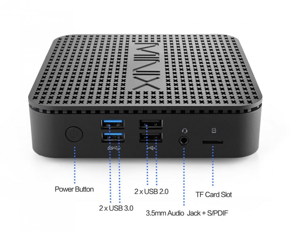MiniX NEO G41V-4 Mini-PC mit Windows 10 Pro